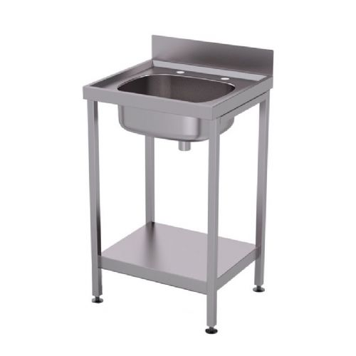 H&L HL4700S Freestanding Temporary Washbasin with Shelf